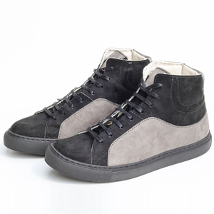 Fairticken Grou Hi-Sneaker (schwarz/grau, MF) - Fairticken