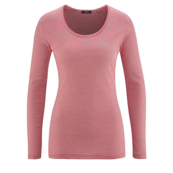 pretty nice 1fadf df3c9 Damen Schlaf-Shirt Langarm EMILY