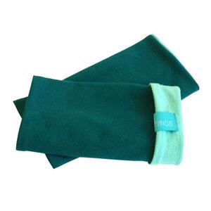 Armstulpen smaragd/mint - bingabonga
