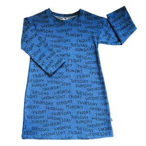 Kinder Nachthemd Bio Baumwolle Weekdays blau - betus