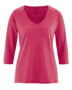 Damen Raglan-Shirt 3/4 Arm - HempAge