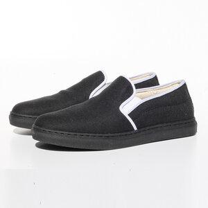 Ortiga Sneaker (schwarz, Canvas) - Fairticken