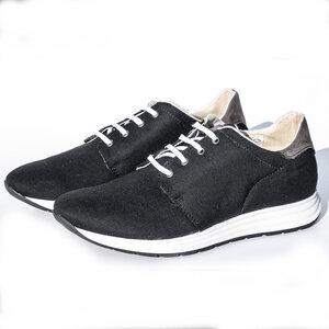 Evora Sneaker (schwarz) - Fairticken