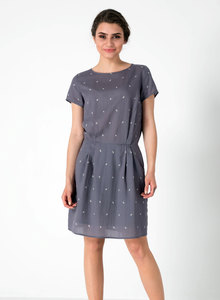 Allover Print Kleid aus Tencel® - ORGANICATION