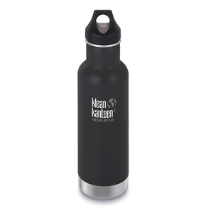 Klean Kanteen isolierte Trinkflasche mit Loop Cap (592ml)  - Klean Kanteen