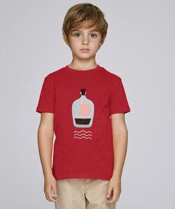 T-Shirt mit Motiv / Piratenschiff im Glas  - Kultgut