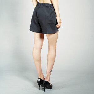 SATINSHORTS - elegante kurze Hose aus Bio Baumwolle - LASALINA