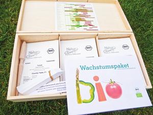 Bio-Saatgut-Komplettpaket - Wachstumspakete