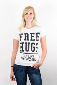Free Hugs T-Shirt - What about Tee