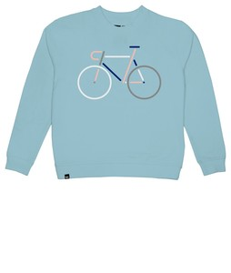DEDICATED Sweatshirt Ystad Color Bike - DEDICATED