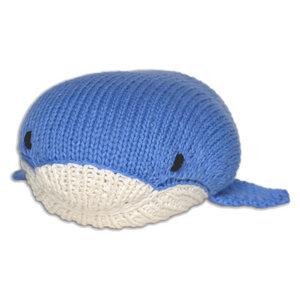 Bio Kuscheltier Pepe der Wal aus Fairem Handel - Chill n Feel