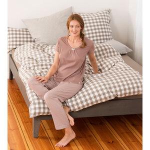 Damen Schlaf-Shirt Kurzarm - Living Crafts