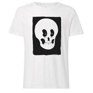 T-Shirt Weiß Bio & Fair // TT02 Herren // 100for10 Dave the Chimp 2 - THOKKTHOKK