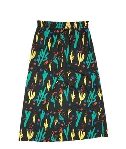 Thinking MU Flowers Skirt Pol - thinking mu