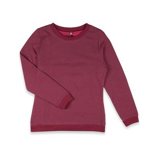 Classic Sweater rot meliert - Degree Clothing