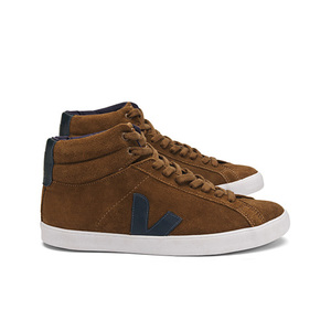 Esplar High Top Suede Brown Nautico - Veja
