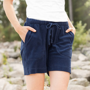 Damen Frottee Shorts - Living Crafts