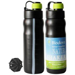 Shaker Trinkflasche 0,5 Liter - Biodora
