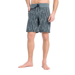 Eco Feathery Boardshort Grau - bleed