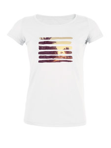 "Bio T-Shirt Amorous ""Nature Stripes"" von Human Family - Human Family"