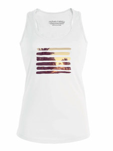 "Racerback Tanktop - Shine ""Nature Stripes""  - Human Family"
