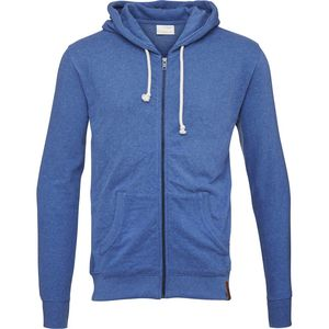 Basic Hoody Melange Turkish Sea - KnowledgeCotton Apparel