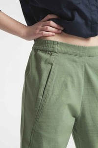 Comfy Pant - Hedge Green - thinking mu