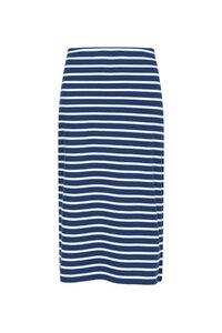 Rock geringelt - Sailor Skirt Breton Marine Ecru - Seasalt Cornwall