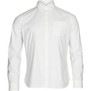 Hemd - Stretched oxford shirt - Bright White - KnowledgeCotton Apparel