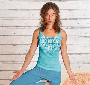 Yogatop Chakra tropical blue - The Spirit of OM