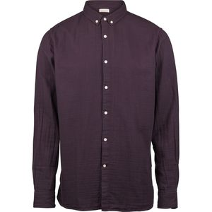 Hemd - Double layer shirt - dog tooth - Decadent Chokolade - KnowledgeCotton Apparel
