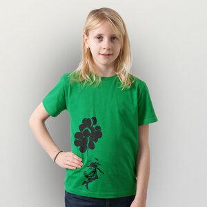 'Luftballons' Kinder T-Shirt Fair Wear Organic - shop handgedruckt