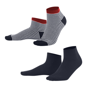 Living Crafts Sneaker-Socken, 2er-Pack - Living Crafts