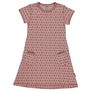 Sommer Kleid Elefanten GOTS - maxomorra
