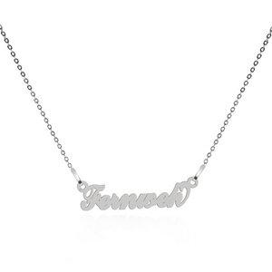 Fernweh Motto-Halskette – 925er Sterling Silber – rhodiniert - JuliaPilot