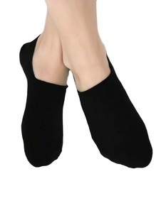 3 Paar Füßlinge Invisible Bio-Baumwolle Sneaker Ballerina Footies  - Albero