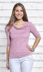 Shirt 3/4 Arm - Surya rosenquarz - The Spirit of OM