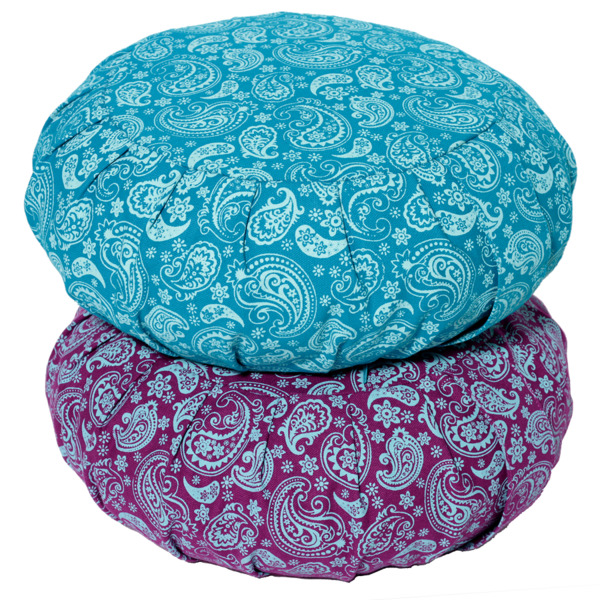 lotus design meditationskissen paisley zafu lotus design avocadostore. Black Bedroom Furniture Sets. Home Design Ideas