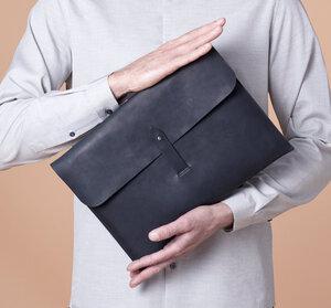 LAPTOP CASE \\ Laptoptasche aus Leder Laptophülle Notebooktasche - NOY