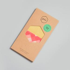 Bienenwachstuch Lunch Pack S/M/M Natur - Gaia Wrap