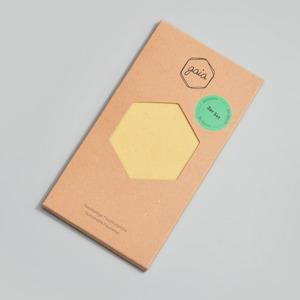 Bienenwachstuch 3er Set S/M/L Natur - Gaia Wrap