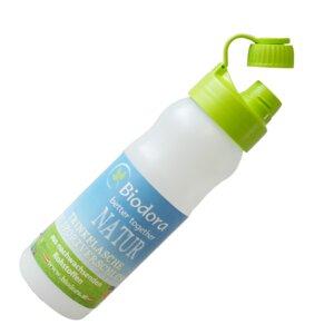 Sportflasche mit grünem Verschluss - Biodora