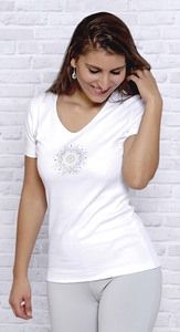 T-Shirt Flower of Harmony - The Spirit of OM