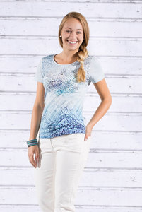 T-Shirt Wasserlilie Kurzarm - The Spirit of OM
