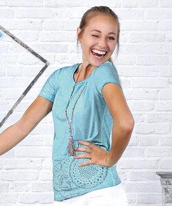 Spitzenshirt Bluebreeze - The Spirit of OM