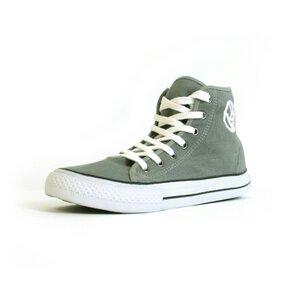 Green&Fair Sneaker grey/white HiCut - green&fair