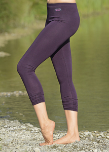 Legging 7/8 Länge Aubergine - The Spirit of OM