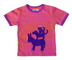 Kurzarmshirt , t-Shirt  '4 Freunde' , 100 % Baumwolle (kbA) - PAT & PATTY
