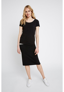 Tammy Pencil Skirt in Black - People Tree