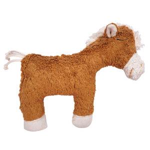 """Greifling mit Rassel """"Pferd"""" , 100 % Baumwolle-kbA - PAT & PATTY"""